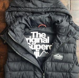 Black Superdry Vest